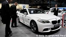 BMW M550d xDrive Automobilmesse in Genf