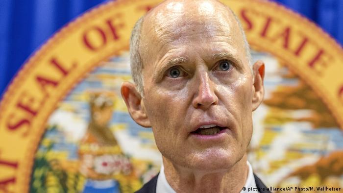 USA Rick Scott Gouverneur von Florida (picture-alliance/AP Photo/M. Wallheiser)