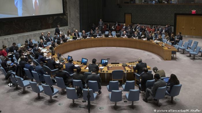USA Sondersitzung UN-Sicherheitsrat zu Ost-Ghuta (picture-alliance/dap/M. Altaffer)
