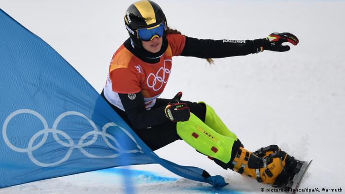 Olympische Winterspiele 2018 in Südkorea Snowbord Parallel-Riesenslalom (picture-alliance/dpa/A. Warmuth)