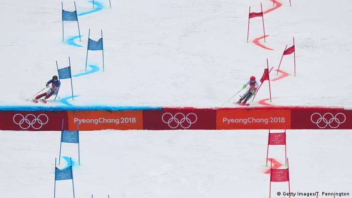 Olympische Winterspiele 2018 in Südkorea Alpine Team Event (Getty Images/T. Pennington)