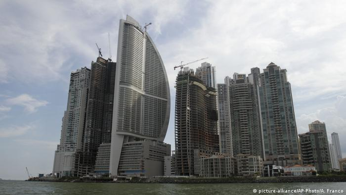 Trump Ocean Club International Hotel in Panama (picture-alliance/AP Photo/A. Franco)