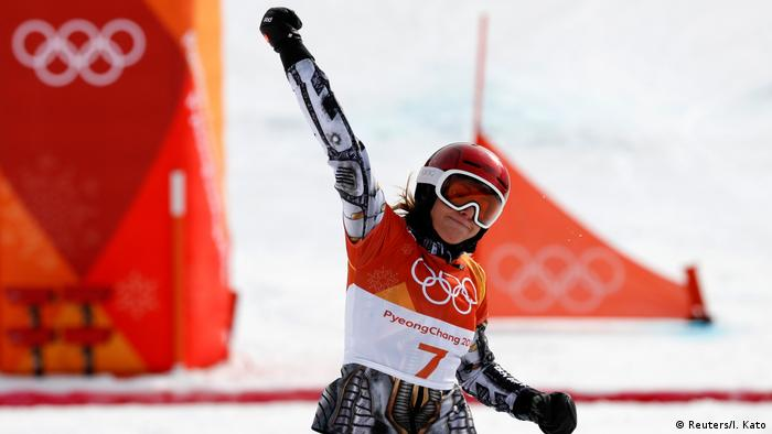 Pyeongchang 2018 Olympische Winterspiele Ester Ledecka (Reuters/I. Kato)