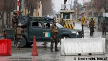 An Afghan army checkpoint in Kabul (Reuters/M. Ismail)