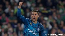 Spanien Madrid La Liga Santander - Real Betis vs Real Madrid: Christiano Ronaldo