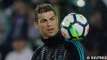 Fußball | La Liga Santander | Real Betis vs Real Madrid | Christiano Ronaldo
