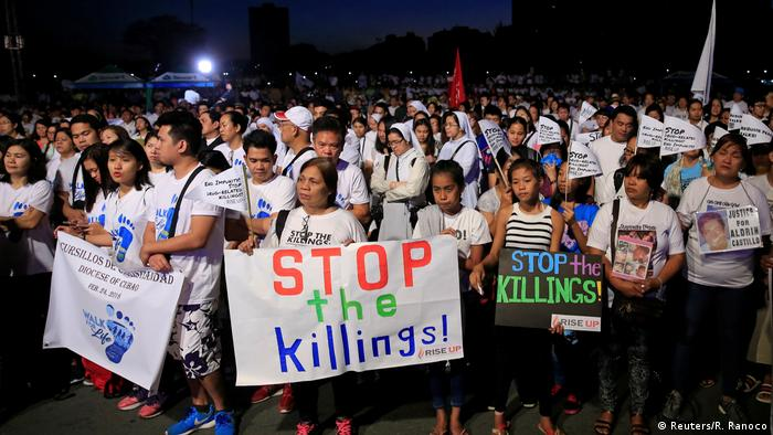 Philippinen | Walk-for-Life-Proteste in Manila (Reuters/R. Ranoco)