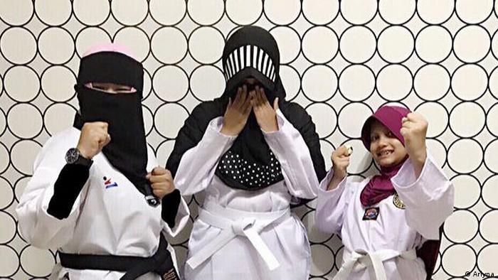 Indonesien Jakarta - Niqab Squad in Indonesien (Arlyna)