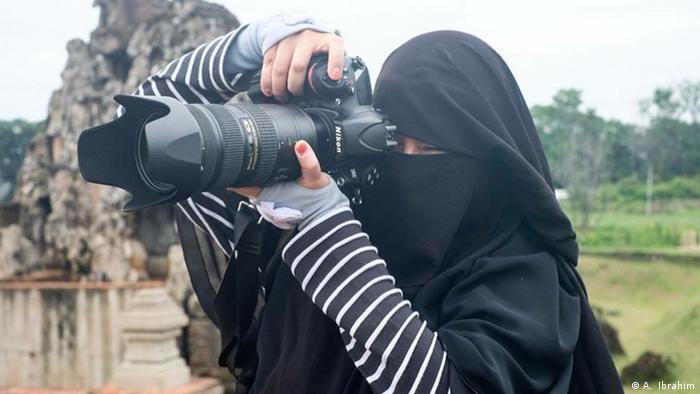 Indonesien Jakarta - Niqab Squad in Indonesien (A. Ibrahim)