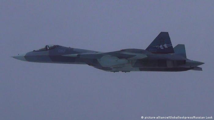 Russia's Su-57 T-50 fifth-generation military jet