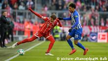 Bundesliga - FC Bayern vs Hertha Bundesliga - FC Bayern vs Hertha (picture-alliance/dpa/M. Balk)