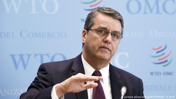 Schweiz | WTO-Generaldirektor Roberto Azevedo (picture-alliance/dpa/KEYSTONE/S. Di Nolfi)