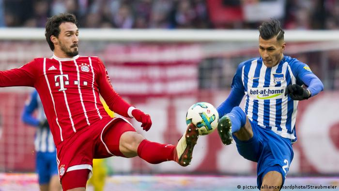 Bundesliga - FC Bayern vs Hertha (picture-alliance/nordphoto/Straubmeier)