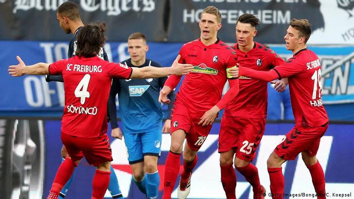 Fußball Bundesliga TSG Hoffenheim gegen SC Freiburg 24. Spieltag