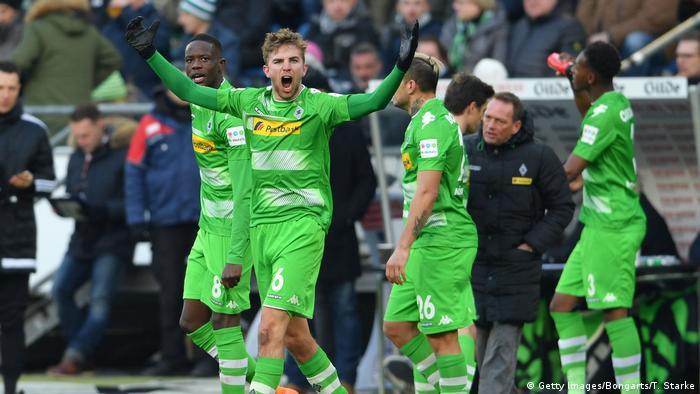 Fußball Bundesliga Hannover 96 v Borussia Moenchengladbach 24. Spieltag (Getty Images/Bongarts/T. Starke)
