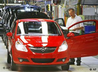 Завод концерна Opel в Эйзенахе