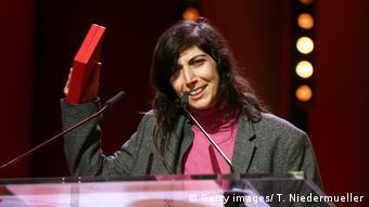 68. Berlinale   Preisträgerin Ines Moldavsky - Kurzfilm Gold