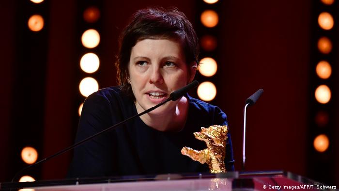 Director Adina Pintilie (Getty Images/AFP/T. Schwarz)