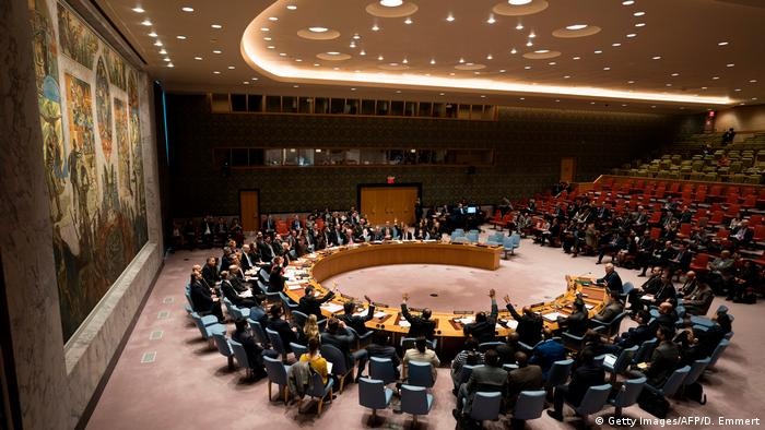 UN Security Council meeting in New York