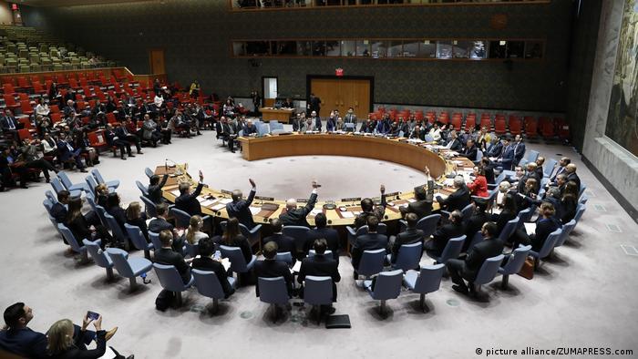 UN Sicherheitsrat Abstimmung über Waffenruhe in Syrien