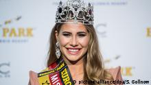 Deutschland Anahita Rehbein bei der Wahl der Miss Germany 2018 in Rust (picture-alliance/dpa/S. Gollnow)