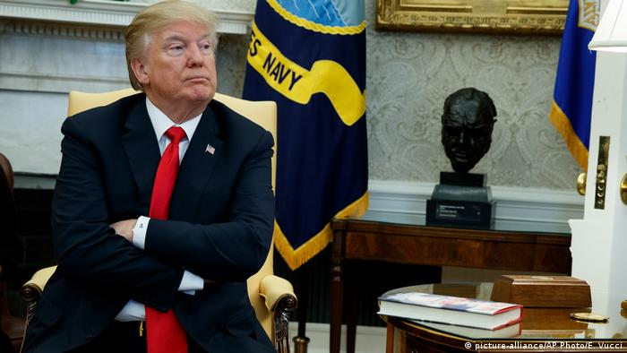 USA Präsident Donald Trump in Washington (picture-alliance/AP Photo/E. Vucci)