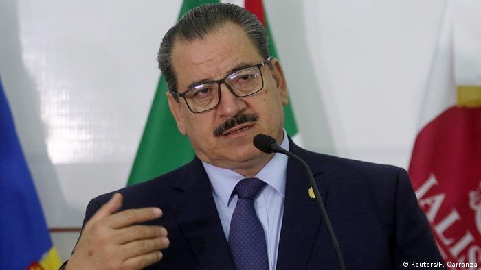 Mexiko Rechtsanwalt Raul Sanchez in Guadalajara (Reuters/F. Carranza)