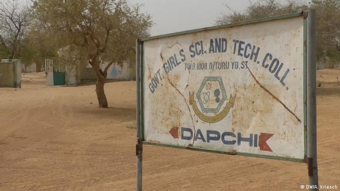 Nigeria Mädchenschule in Dapchi (DW/A. Kriesch)