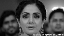 Indien Bollywood-Schauspielerin Sridevi Kapoor in Mumbai