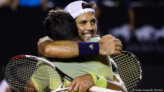 Brasilien Rio Open in Rio de Janeiro - David Marrero und Fernando Verdasco (Getty Images/B. Mendes)
