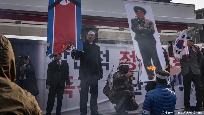 Anti-North Korea protests in Seoul (Getty Images/AFP/J. Chung)