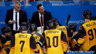 Pyeongchang 2018 Olympische Winterspiele Eishockey Olympische Winterspiele Trainer Marco Sturm