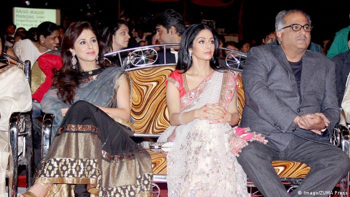Bollywood-Schauspielerin Sridevi Kapoor (Imago/ZUMA Press)