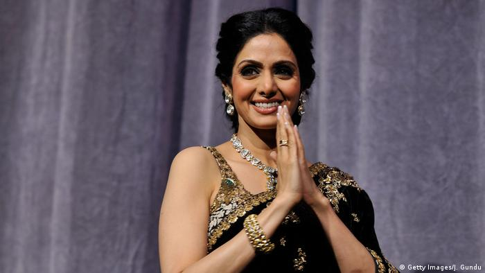 Bollywood-Schauspielerin Sridevi Kapoor (Getty Images/J. Gundu)