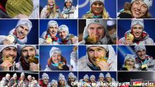 Pyeongchang 2018 - 14 Gold für Deutschland