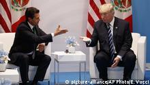 Donald Trump und Enrique Pena Nieto