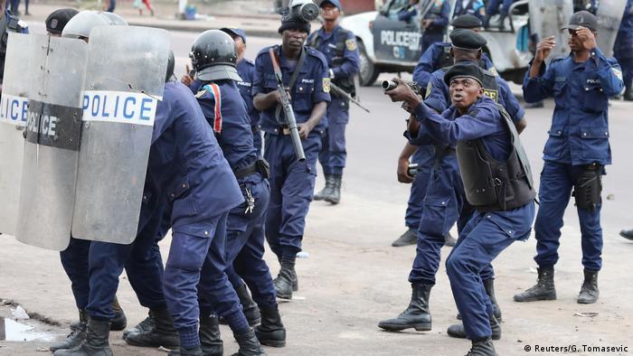 Proteste in Kinshasa Kongo (Reuters/G. Tomasevic)