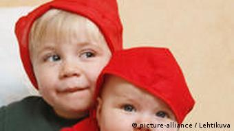 Pummelige Kinder