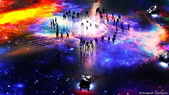 Südkorea Pyeongchang- Abschlussfeier der Olympischen Spiele