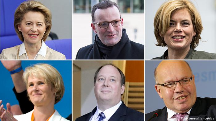 CDU Minister Kabinett (picture-alliance/dpa)