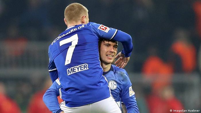 Fußball Bundesliga FC Schalke Leon Goretzka und Max Meyer