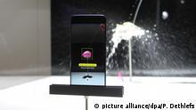 20.02.2018, Großbritannien, London: Die Slow-Motion-App des Samsung Galaxy S9 reagiert auf Bewegungen. (zu dpa: Mobile World Congress: Samsung zeigt neue Smartphone-Oberklasse vom 25.02.2018) Foto: Philip Dethlefs/dpa +++(c) dpa - Bildfunk+++ | Verwendung weltweit