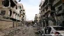 Syrien Angriffe auf Ost-Ghuta