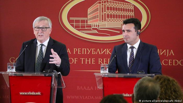 EU-Kommissionspräsident Juncker in Mazedonien
