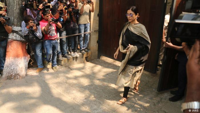 Indien Trauer um Bollywood-Star Sridevi (IANS)