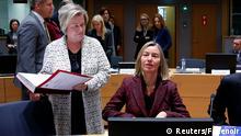 Brüssel EU-Außenminister-Treffen | Federica Mogherini, EU-Außenbeauftragte