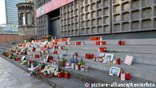 Berlin Anschlag Breitscheidplatz Gedenkstätte Gedächtniskirche