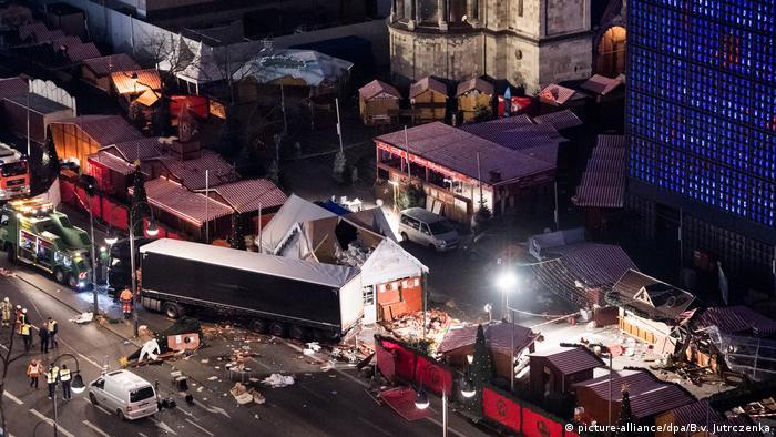 Zamach na jarmark bożonarodzeniowy w Berlinie 19.12.2019