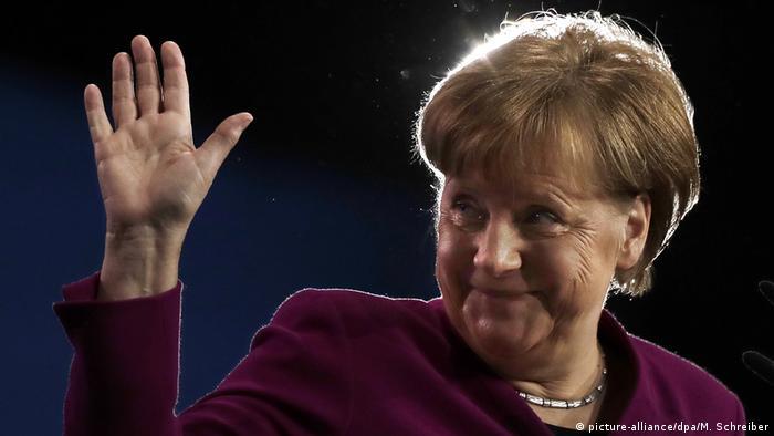 Angela Merkel (picture-alliance/dpa/M. Schreiber)