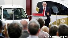 Großbritannien Jeremy Corbyn, Labour-Party